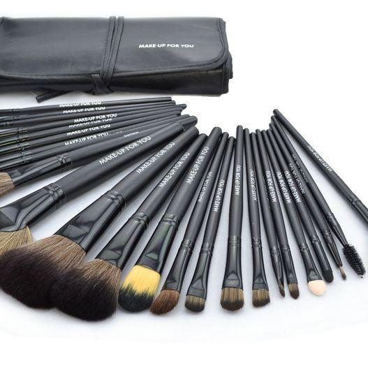 High Quality 24 Pcs/Set Makeup Brush Cosmetic Set Kit Packed In High
